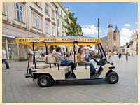 krakow city tour by electric car foto